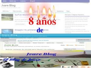 8 años de jvare blog