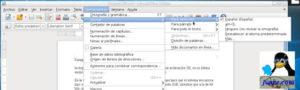LibreOffice en español