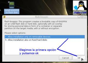 Crear usb Knoppix 7.6