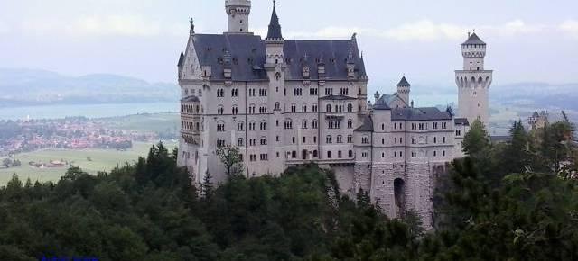 Sur de Baviera, visita al castillo de Luis II