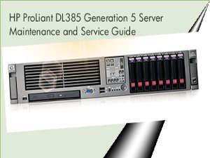 Manuales de Servidores Proliant DL385 G5