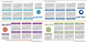 Calendario Ubuntero Esbuntu