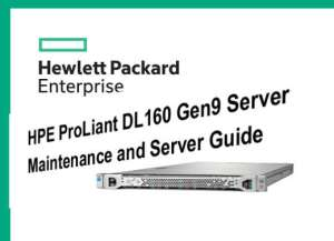 Manual Proliant DL160 Gen9