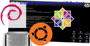 Instalar GNU/Linux en un servidor HP