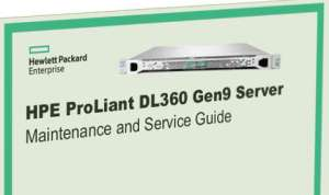 Manuales HPE Proliant DL360 Gen9