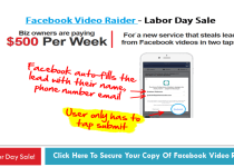 Facebook Video Raider Review By Luther Landro
