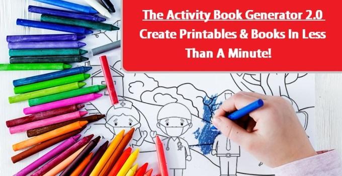 The Activity Book Generator 2.0