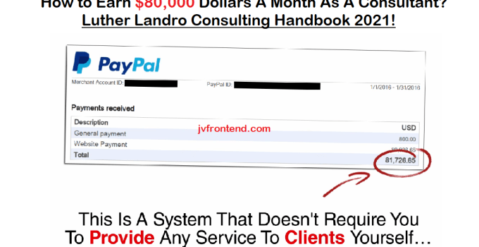 The $5 Consulting Handbook 2021 Review Luther Landro