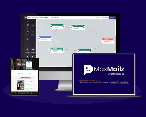 MaxMailz Pro App With 360 Degree Email Technology By Dr. Amit Pareek