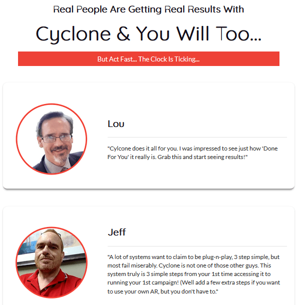 Cyclone Software - The World's First 'Self Perpetuating' Smart Income App Creates.