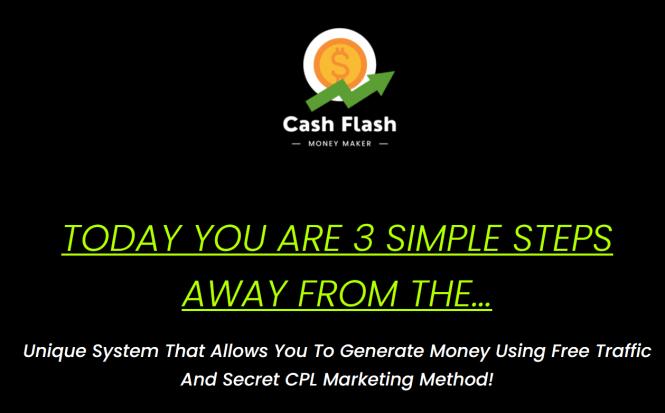 Cash flash CPL Marketing Training 2020