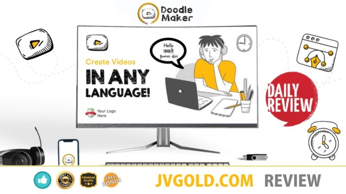 DoodleMaker Review By Paul Ponna - The Best Doodle Video Creation Software