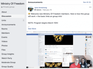 Ministry Of Freedom Coaching Program By Jono Armstrong