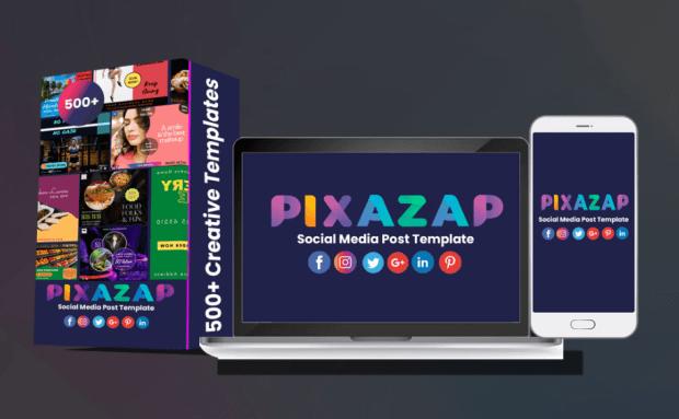 PixaZap Social Media Graphic Templates