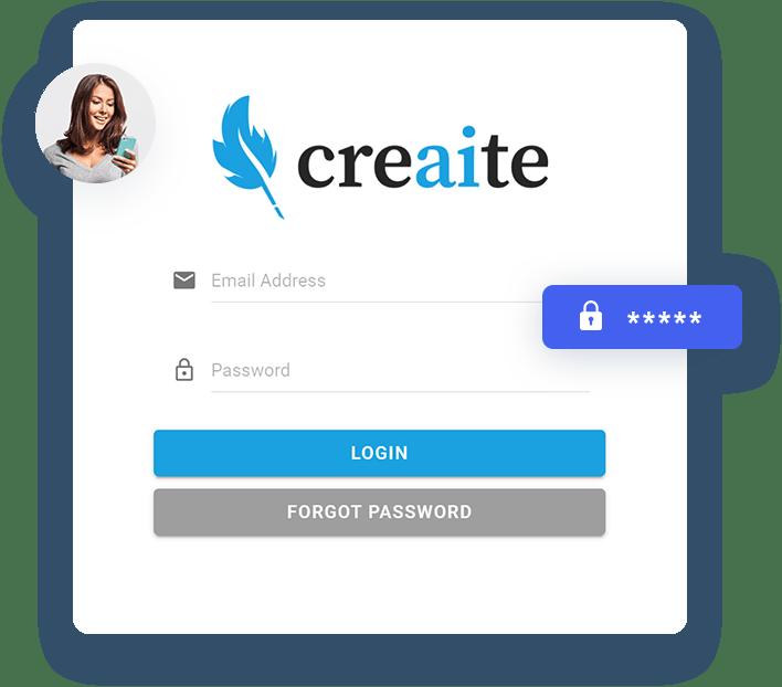 Creaite App - Artificial Intelligence Content Generator