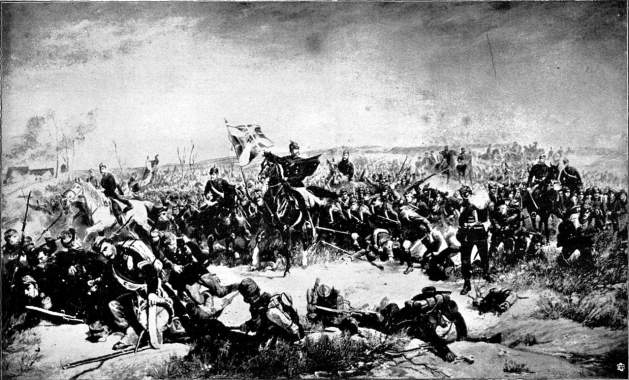 76th Füsilierbataillon in the Battle of Loigny
