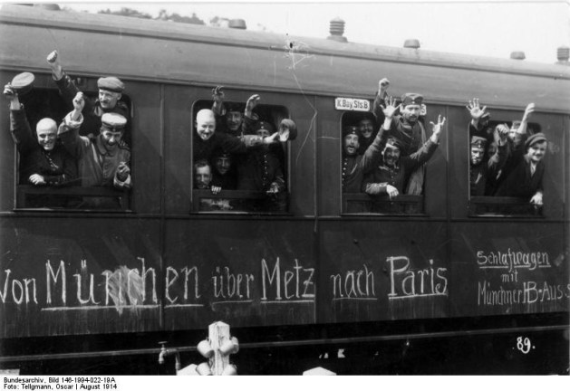 German Mobilisation 1914