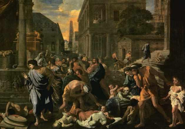 The Bubonic Plague - by Nicolas Poussin