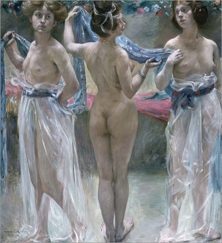 Lovis Corinth - The Three Graces