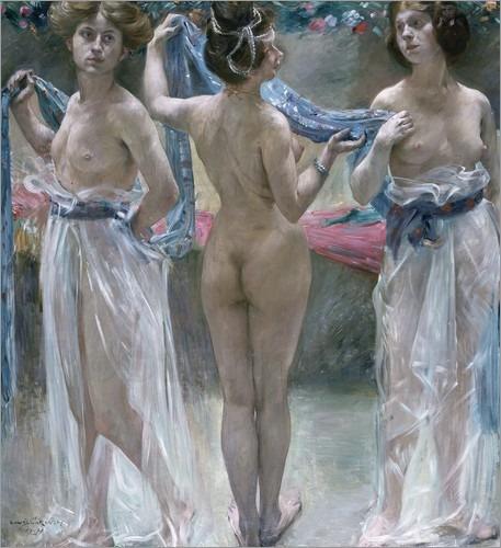 Lovis Corinth - The Three Graces