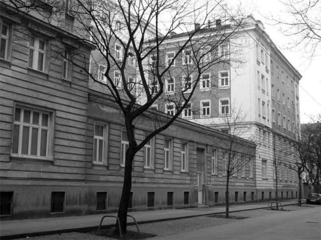 The Männerheim at Meldemannstraße 25 - 29, Vienna