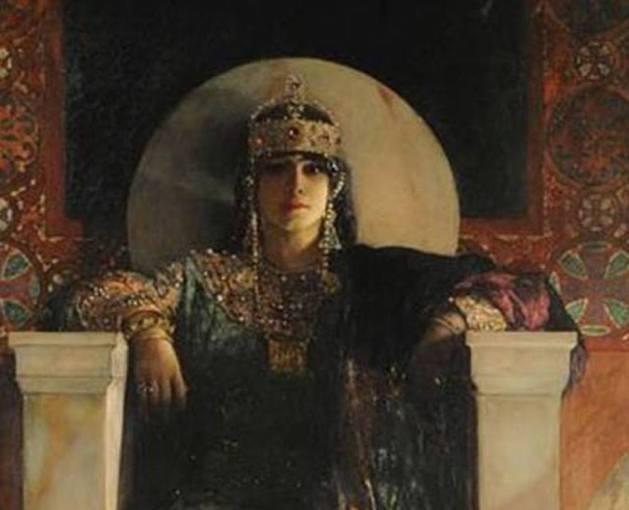 Empress Theodora - painting by Jean-Joseph Benjamin-Constant