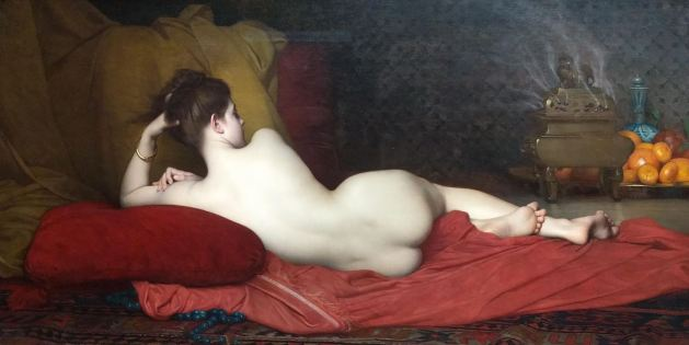 Odalisque by Jules Joseph Lefebvre