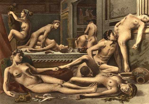Orgia by Édouard Henri Avril