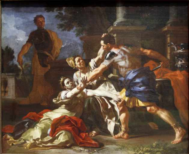 The-Death-of-Messalina-by-Francesco-Solimena