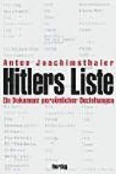 Hitler's Liste