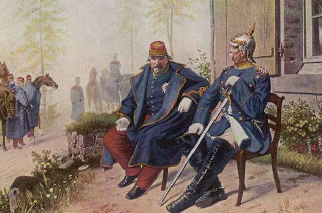 Bismarck and Napoleon after the Battle of Sedan