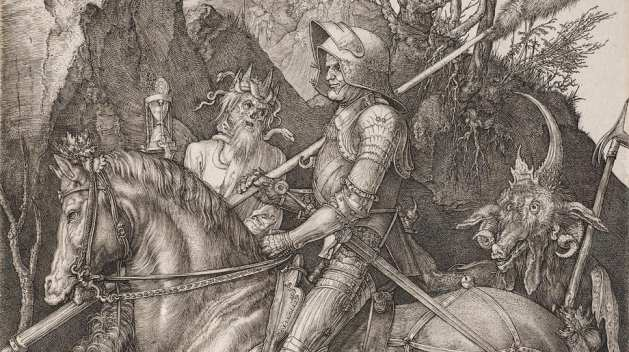 The Knight, Death and the Devil - Albrecht Dürer (The Scourges of the Middle Ages)