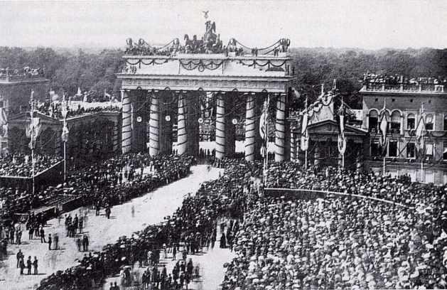 Victory Celebration in Berlin