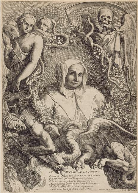 "Catherine Monvoisin (or Montvoisin), née Deshayes, usually called ""La Voisin"""