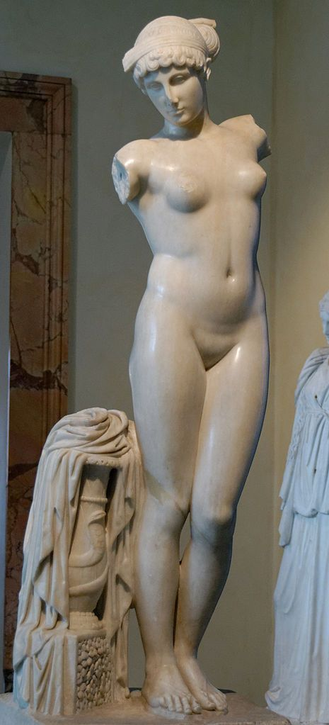 Esquiline Venus in the Capitol Museum – Woman and Snake