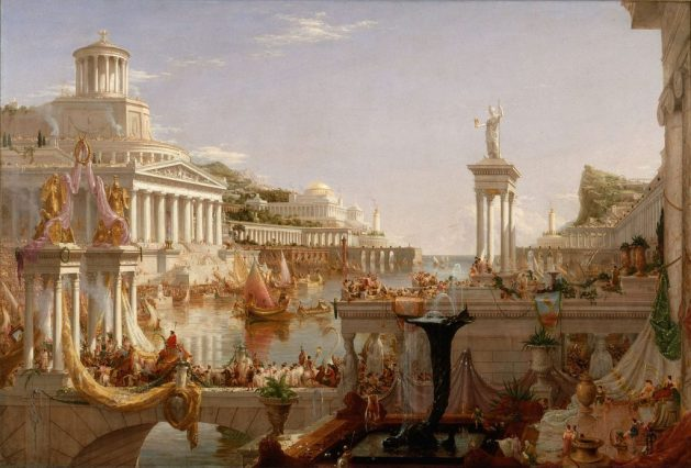 Thomas Cole  - The Consummation of the Empire