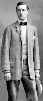 David Adler as a young man.