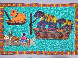 Animals Travelling in Boats