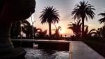 Beautiful view on location near Long Beach