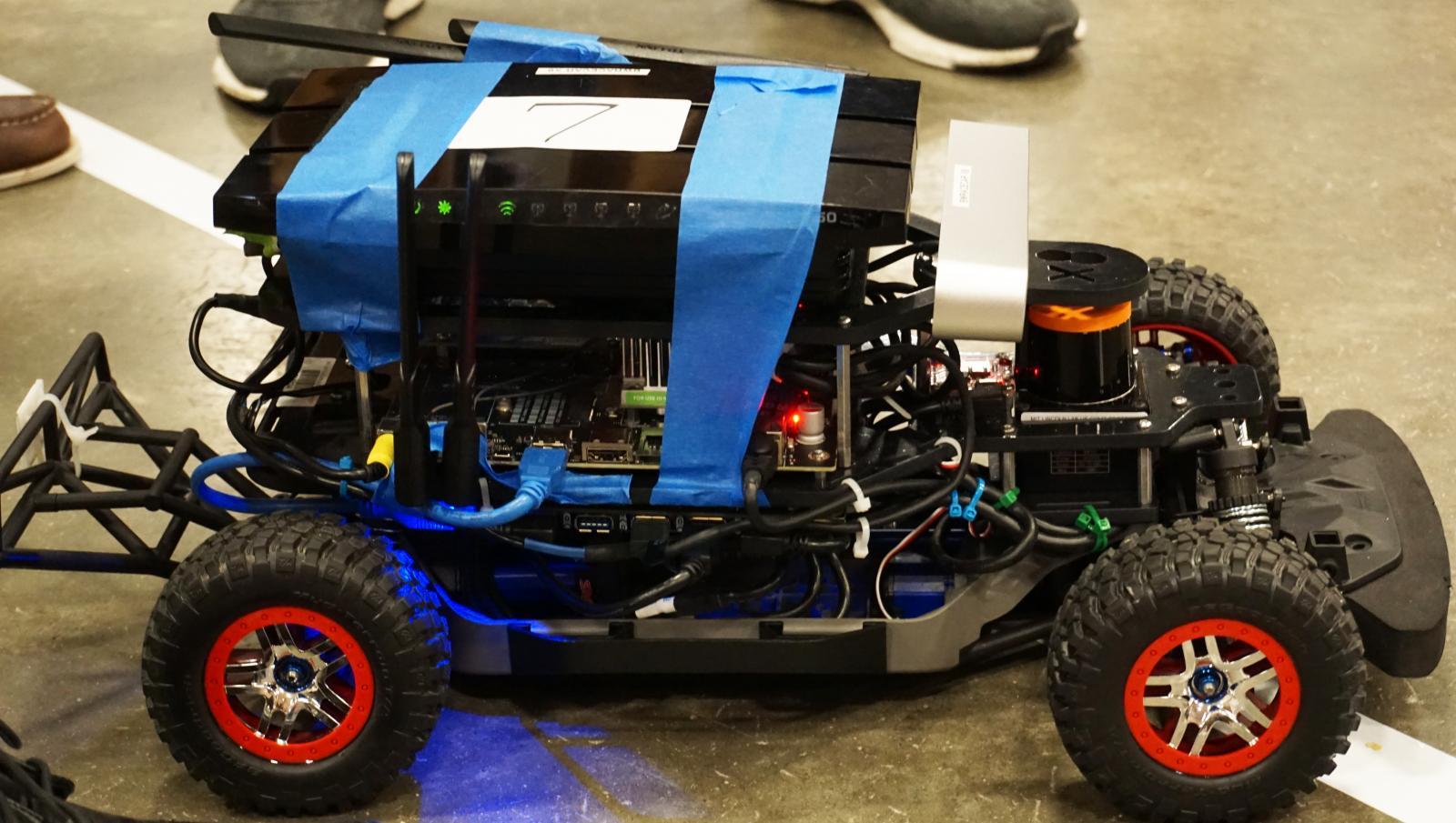 High School Students Engineer Autonomous Race Cars