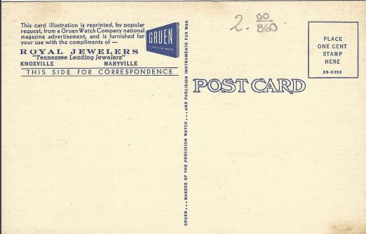 Soldier Postcard 2