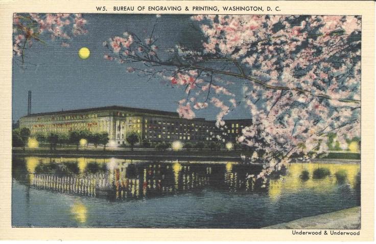 Bureau of Engraving & Printing, Washington