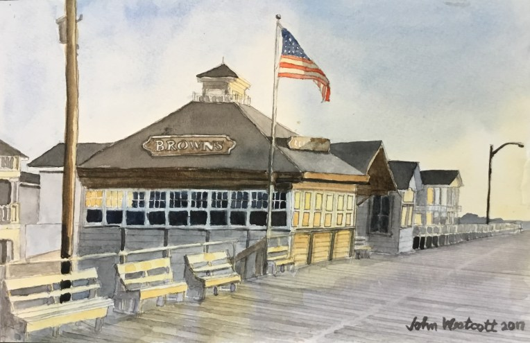 Brown's Restaurant at 5:30 AM - Ocean City NJ