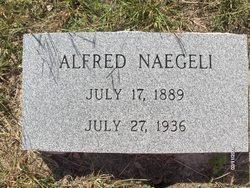 Alfred Naegeli headstone