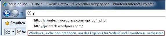 Windows Server 2008 R2: Windows Search aktivieren (1/3)