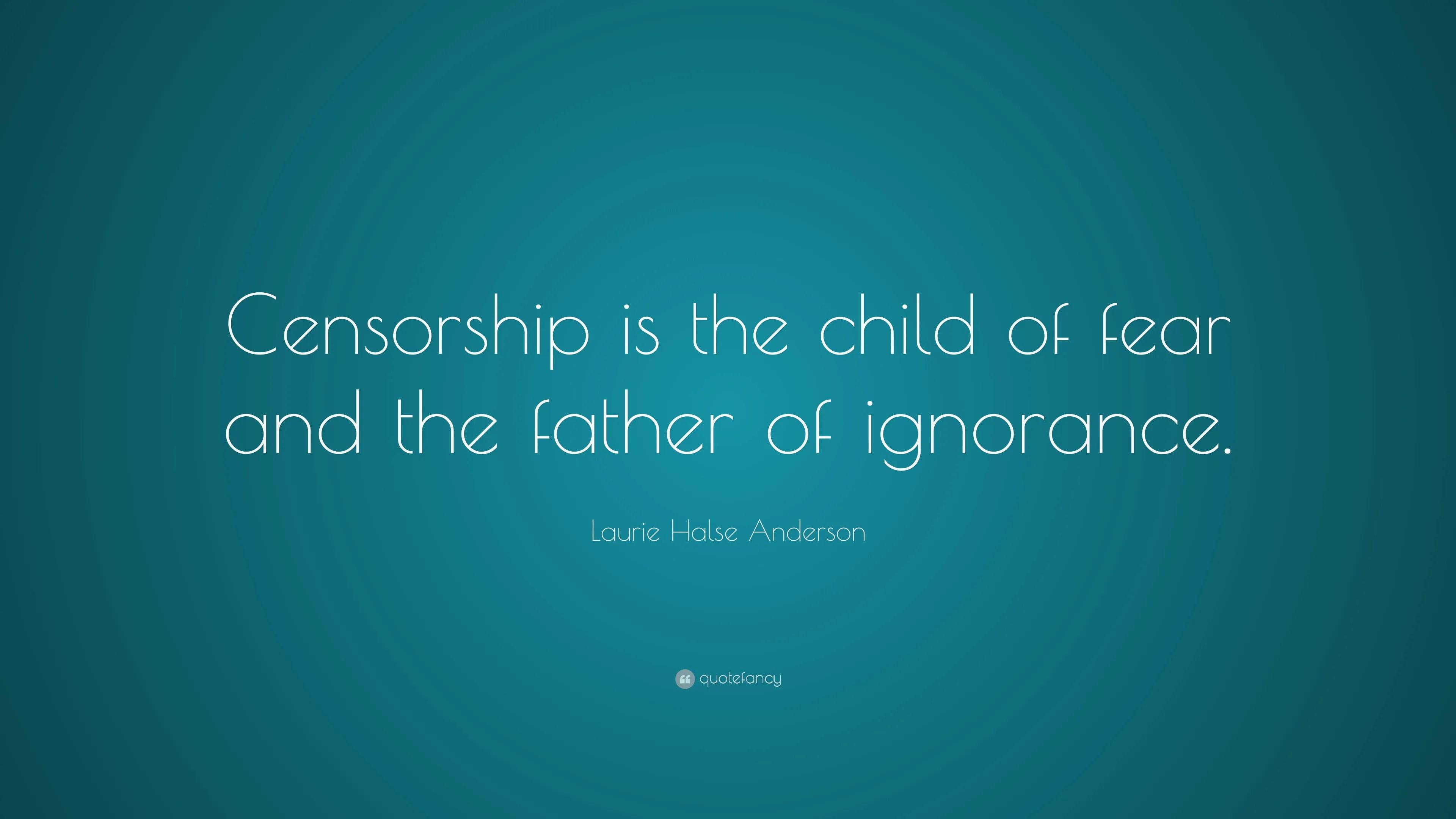 Information warfare - Censorship quote