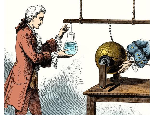 leyden jars benjamin franklin electrical shocks