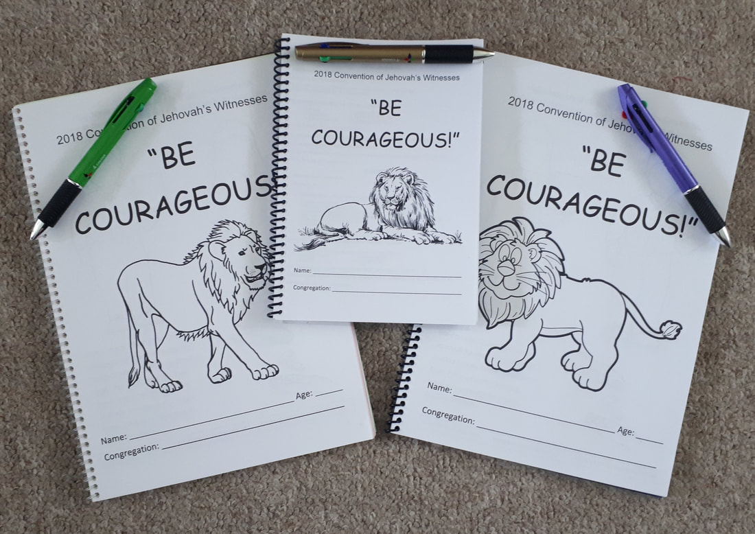 Jw Kids Convention Amp Assembly Notebooks