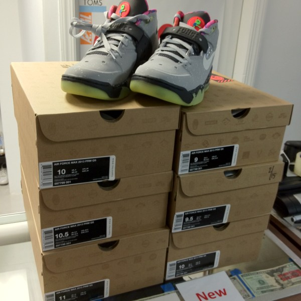 pretty nice ef7c3 8fdd1 2013 Nike Air Force Max 2013 PRM QS All Star Area 72   Jwong Boutique