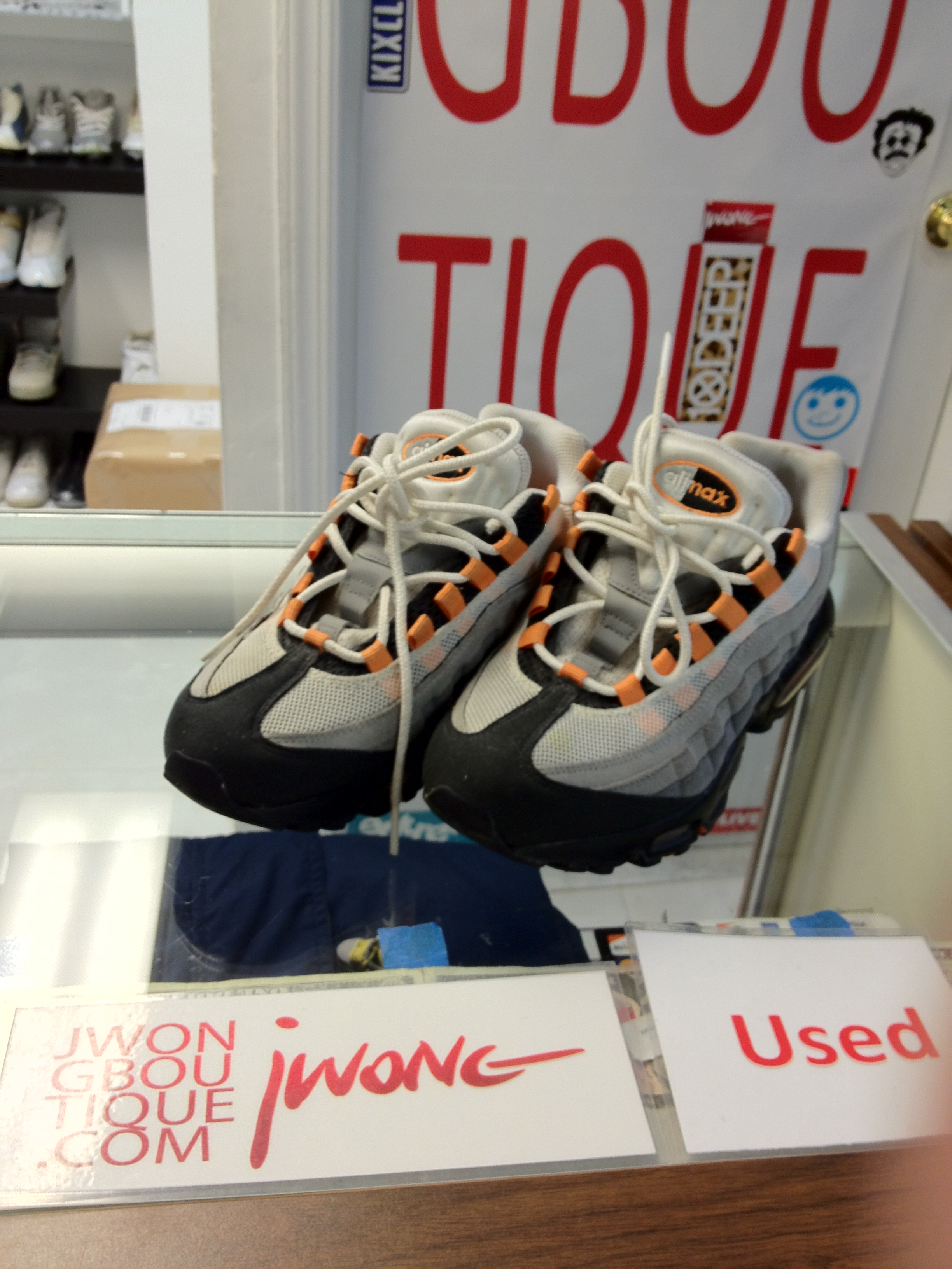 how to buy dirt cheap professional sale 2011 Nike Air Max 95 Bright Mandarin